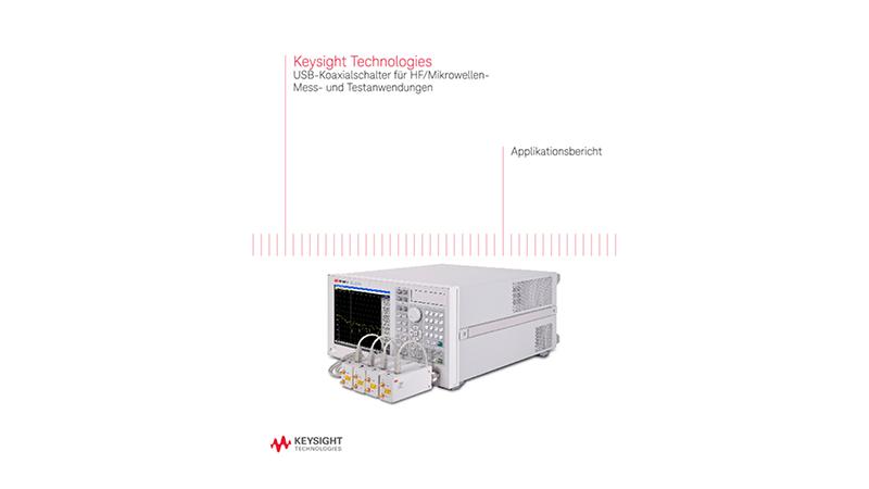 USB-Koaxialschalter für HF/Mikrowellen-Mess- und Testanwendungen