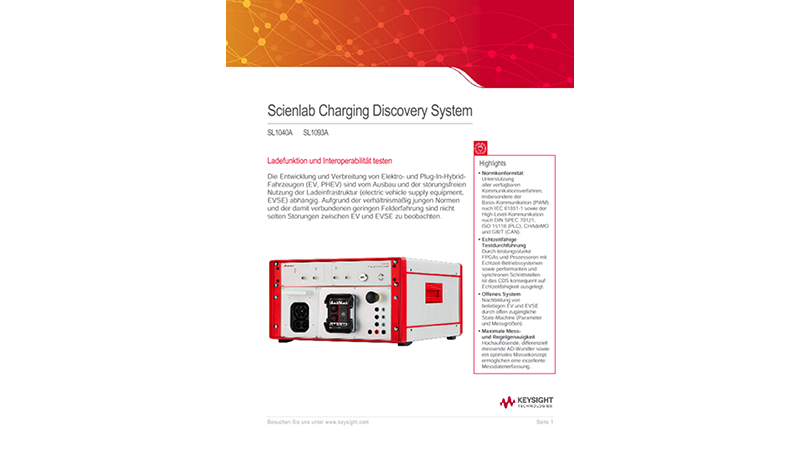 Scienlab Charging Discovery System