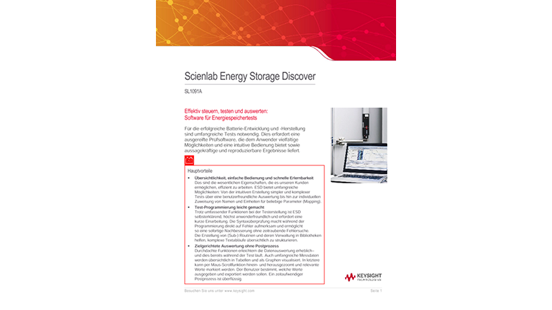 Scienlab Energy Storage Discover