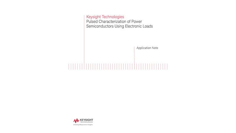 Pulsed Characterization of Power Semiconductors Using Electronic Loads