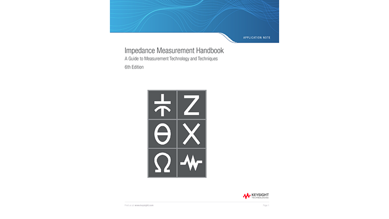 Impedance Measurement Handbook