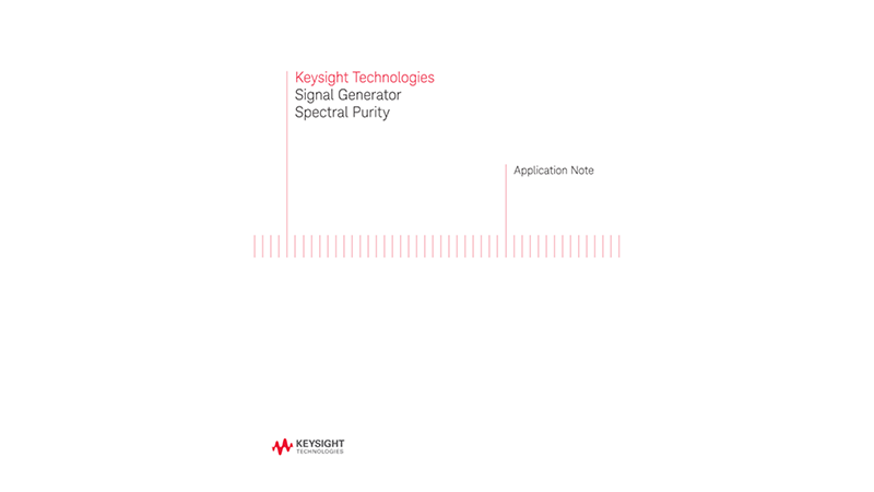 Signal Generator Spectral Purity