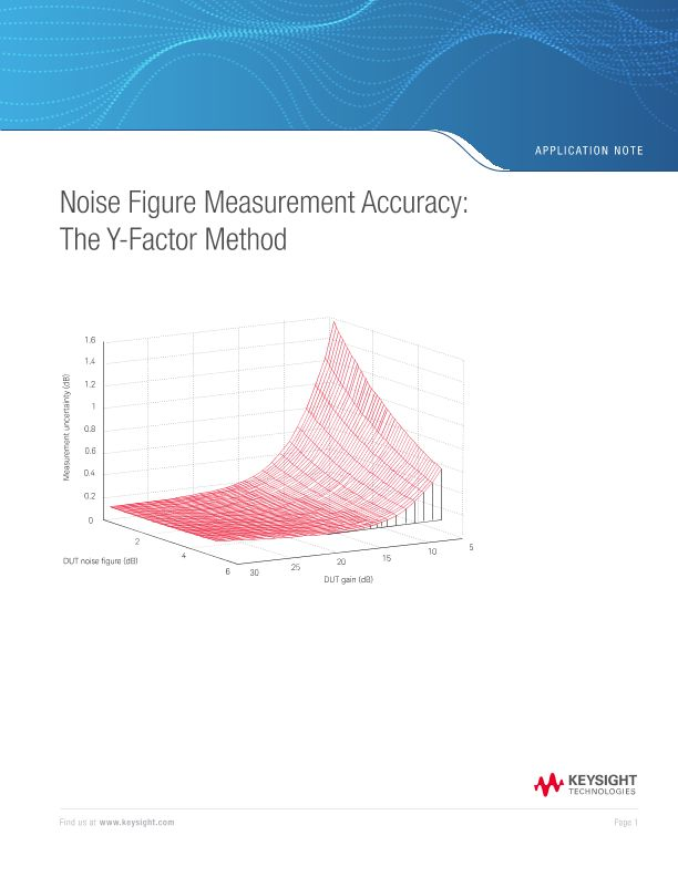 Y-Factor Method for Noise Figure Measurement Accuracy