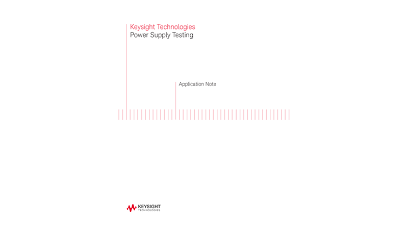 Power Supply Testing with Electronic Loads