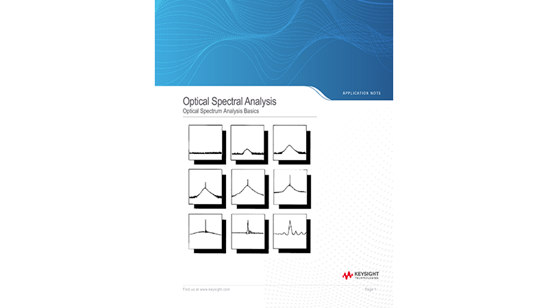 Optical Spectral Analysis
