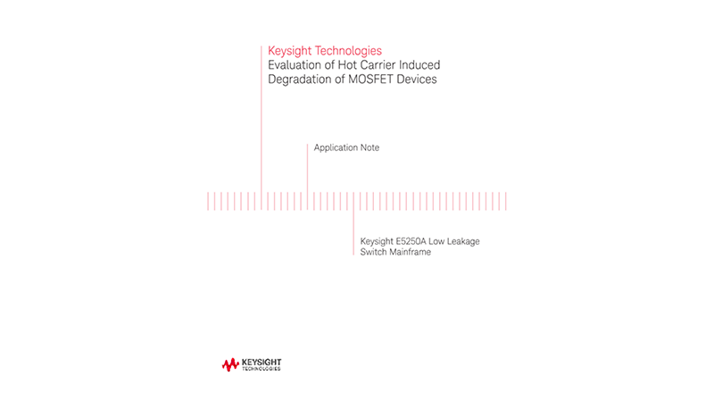Evaluation of Hot Carrier Degradation of MOSFET Device
