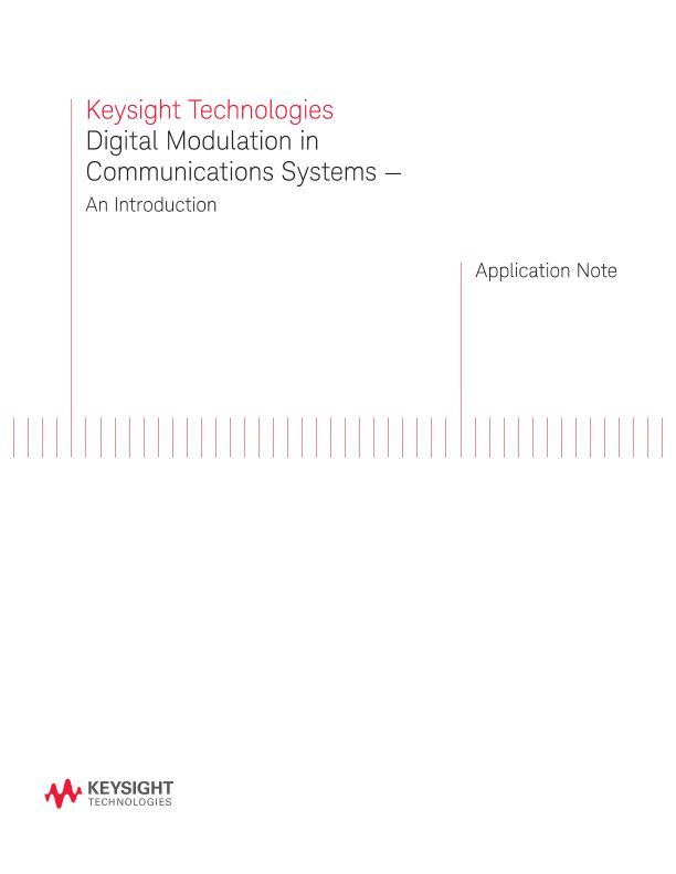 Digital Modulation in Communications Systems — An Introduction