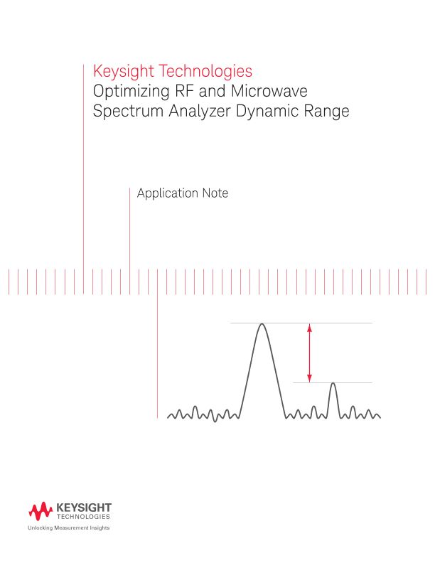 Optimizing RF and Microwave Spectrum Analyzer Dynamic Range -