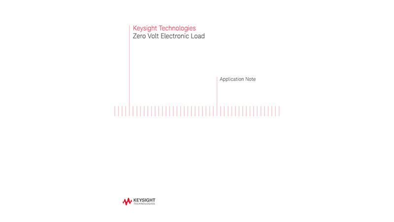 Zero Volt Electronic Load