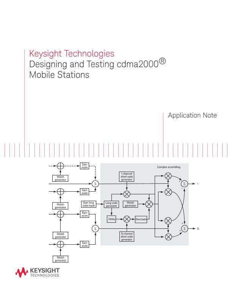 cdma2000® Mobile Station Design and Test