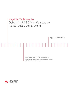 Debugging USB 2.0 Compliance Testing