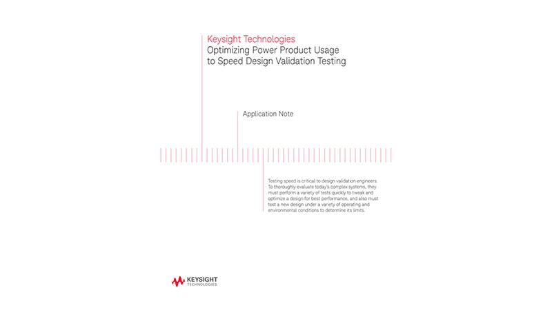 Optimizing Power Product Usage to Speed Design Validation Testing