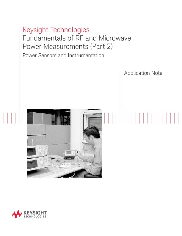 Fundamentals of RF and Microwave Power Measurements (Part 2)