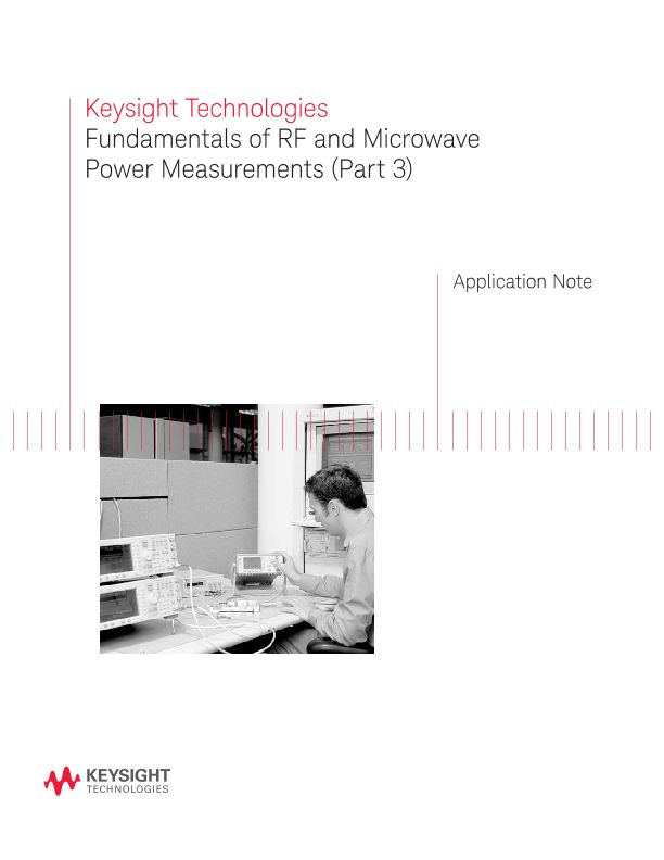 Fundamentals of RF and Microwave Power Measurements (Part 3)