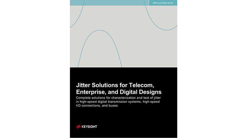 Jitter Solutions for Telecom, Enterprise, and Digital Designs