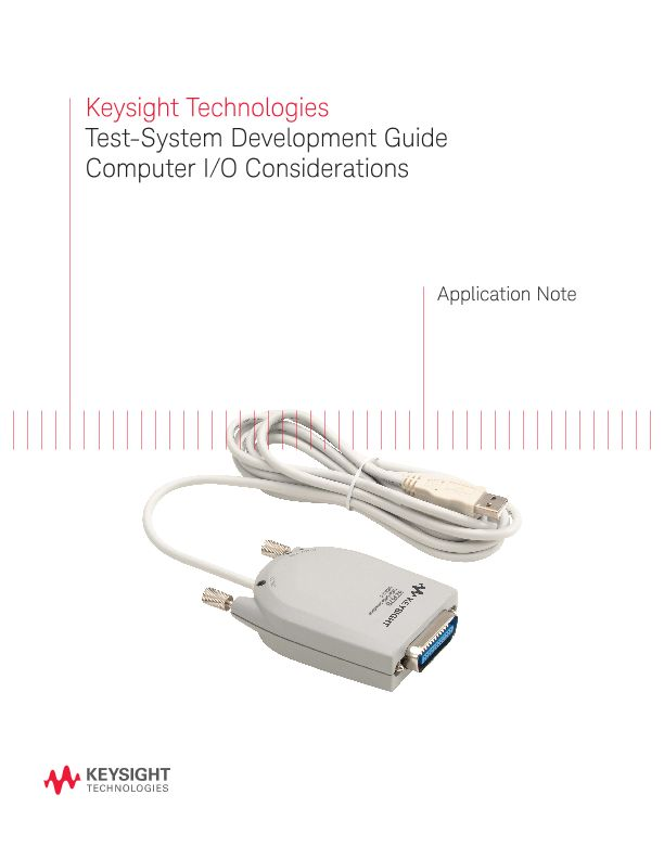Test-System Development Guide: Computer I/O Considerations