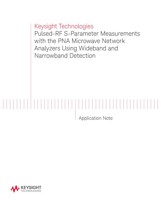 Wideband and Narrowband Detection for Pulsed-RF Component Testing