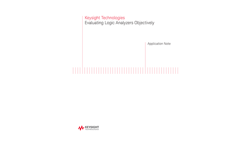 Selecting the Best Logic Analyzer for Your Applications