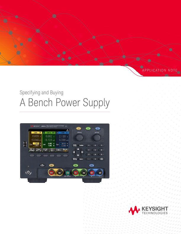 Specifying and Buying a Bench Power Supply