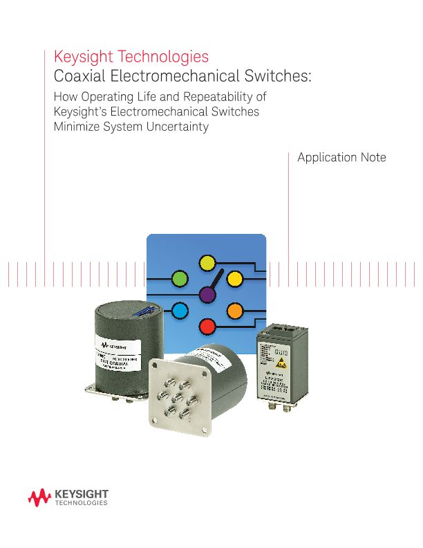 Coaxial Electromechanical Switches