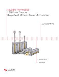 USB Power Sensors: Single/Multi-Channel Power Measurement