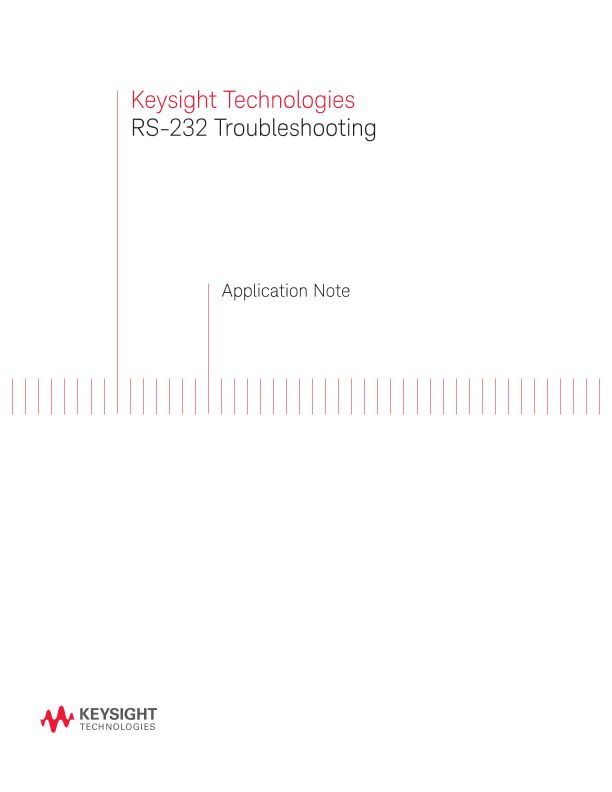 RS-232 Troubleshooting