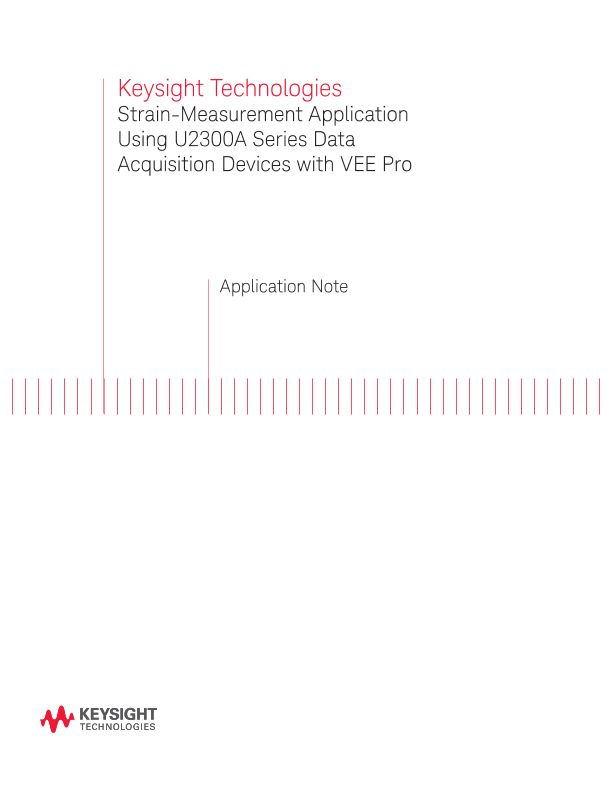 Strain-Measurement Application Using DAQ Devices