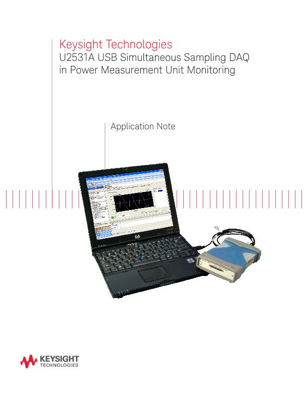 Power Management Unit Monitoring with USB Simultaneous DAQ