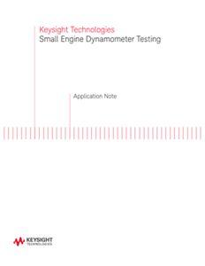 Small Engine Dyno Testing