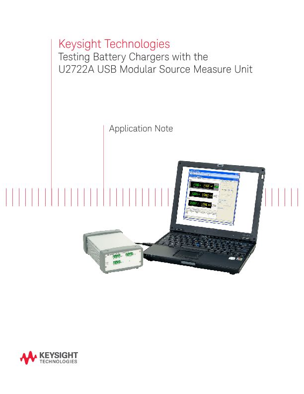 Battery Charger Testing with USB Source Measure Unit (SMU)