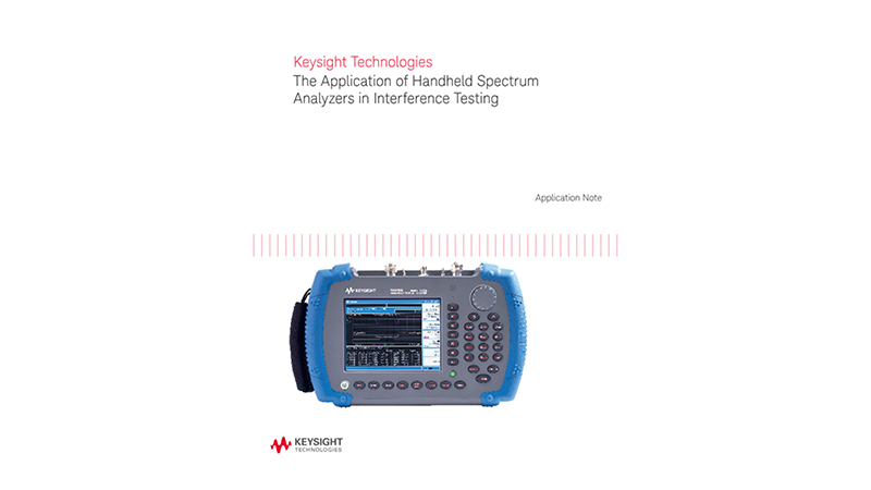 Applications of Handheld Spectrum Analyzers