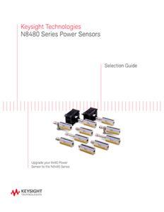 N8480 Series Power Sensors