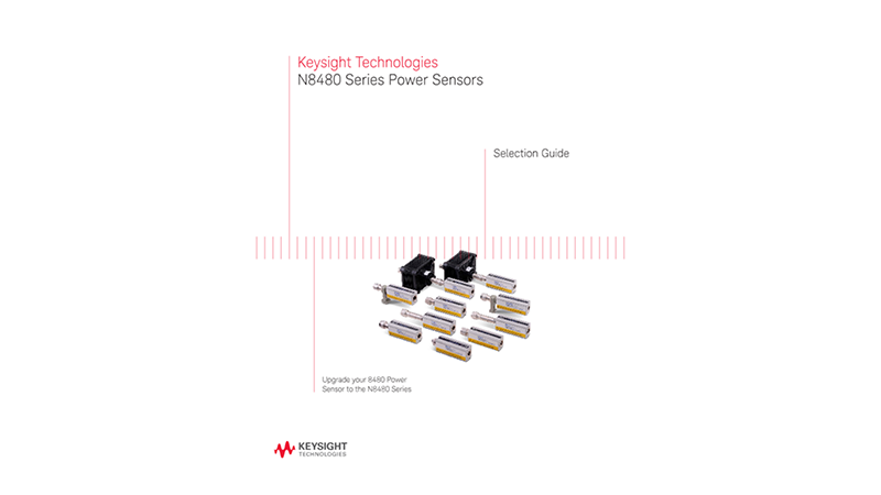 N8480 Series Power Sensors