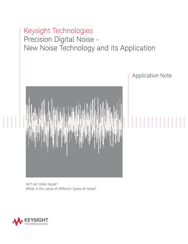 Applications of Digital Noise Technology