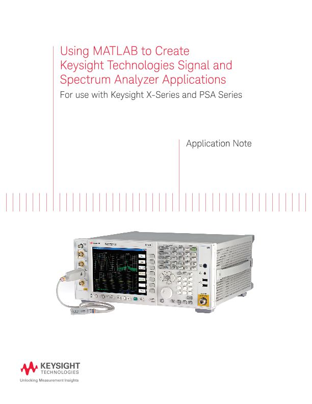 Using MATLAB to Create Signal and Spectrum Analyzer Applications