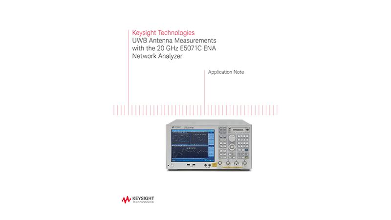 UWB Antenna Measurements with the 20 GHz ENA Network Analyzer