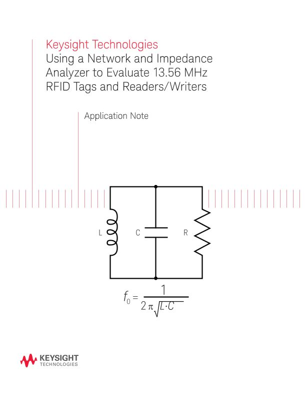 13.56 MHz RFID Antenna Design Using Network and Impedance Analyzers