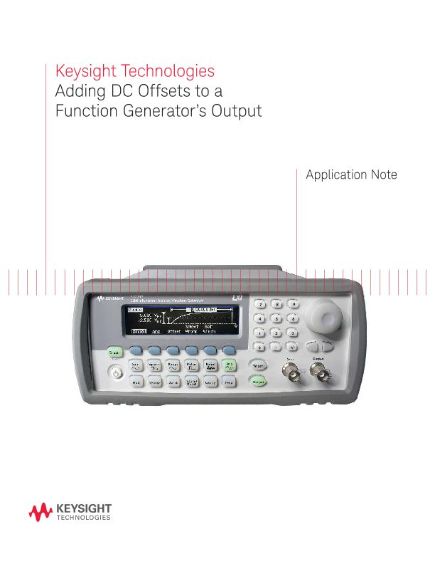 How to Add DC Offsets to a Function Generator's Output