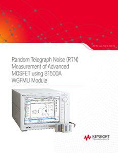 Random Telegraph Noise Measurement of Advanced MOSFET