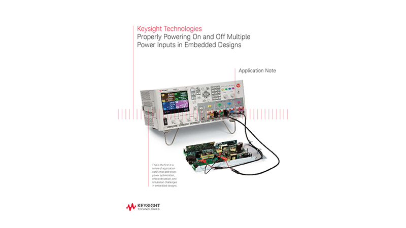 Properly Powering On and Off Multiple Power Inputs in Embedded Designs