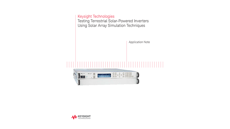 Testing Terrestrial Solar-Powered Inverters