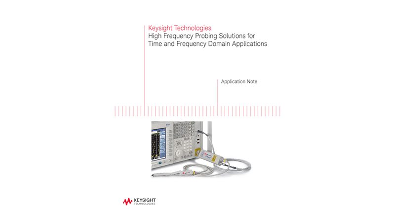 High Frequency Probing for Time and Frequency Domain