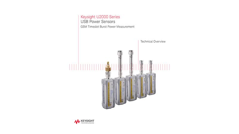 GSM Timeslot Burst Power Measurement Using USB Power Sensors