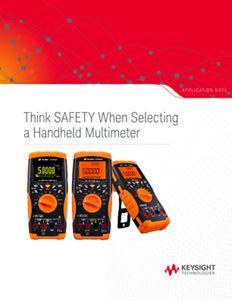 Handheld Multimeter Safety Precautions