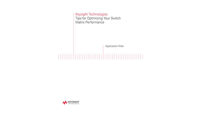 Switch Matrix Performance Optimization Tips