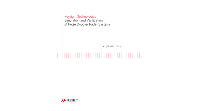 Simulation and Verification of Pulse Doppler Radar Systems