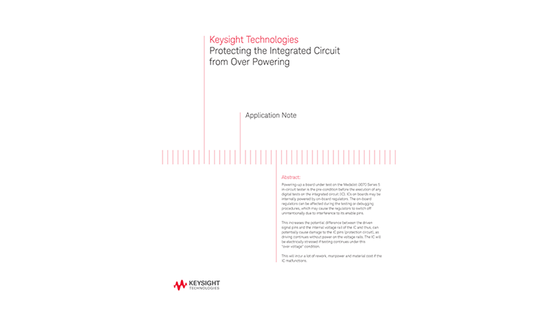 Protecting the Integrated Circuit from Over Powering