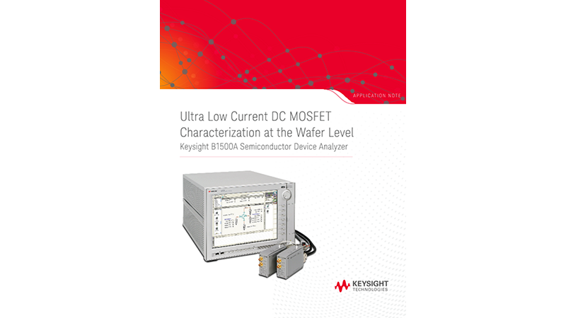 DC MOSFET Characterization at the Wafer Level