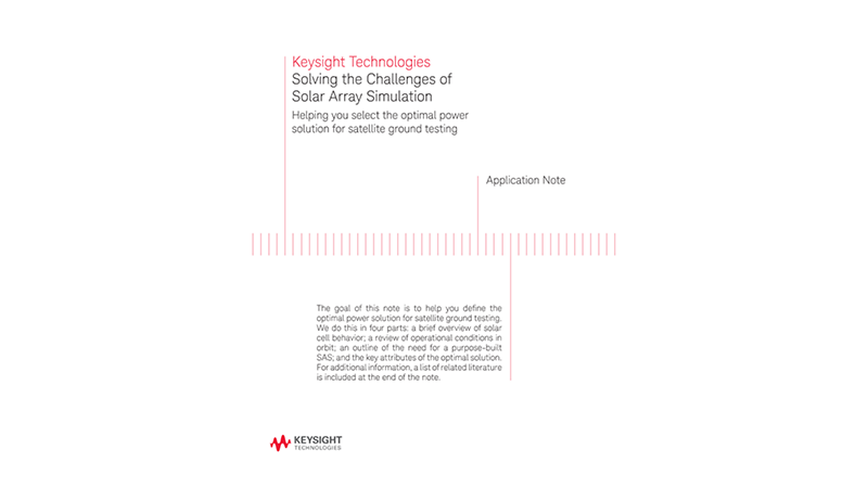 Solving the Challenges of Solar Array Simulation