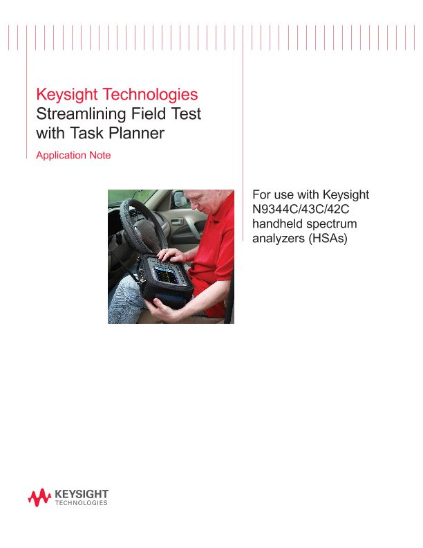Streaming Field Test with Task Planner